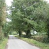 Minor road from Almeley to Woonton