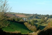 Harberton, a typical South Hams village in Devon