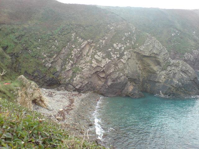High Tide at Caerfai