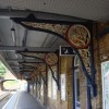 Iron platform canopy brackets, Beckenham Junction