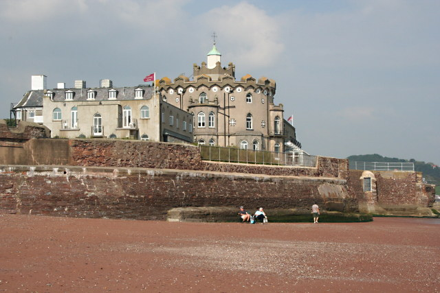 Redcliffe Hotel from Paignton Beach