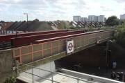 Railway bridge over Kingsley Road