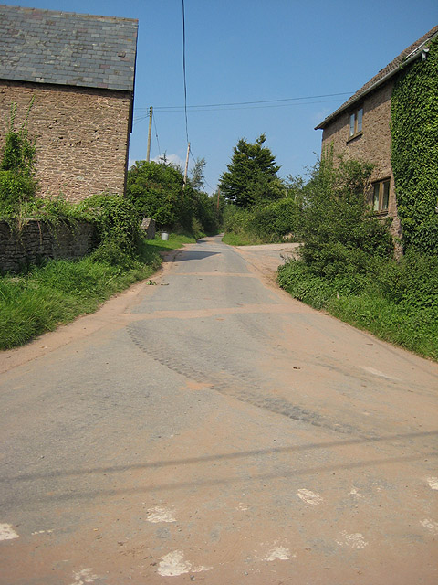Road to Bolstone from Carey