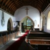 St. John the Baptist's church, King's Caple, interior