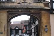 Gateway, old Bablake and Bond's Hospital