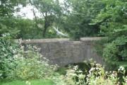 Heron over bridge on old A483