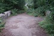 Old A483 road bridge