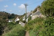 Landewednack: entering Cadwith