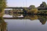 River Severn, Telford Way road bridge