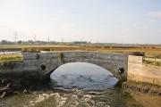 Old Bridge over the River Test at Redbridge