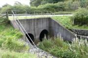 Bridge under the A76