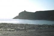 Abereiddy Beach and Tower