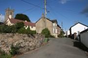 Bridford: near the church