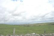 View eastwards across farmland