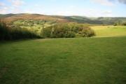 Farmland below Green Down
