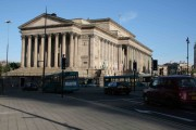 St George's Hall in the morning sun