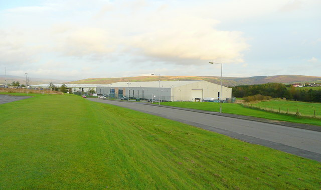 Industrial units at Parc Hendre
