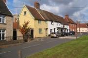 Village street, Haughley