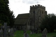 St Thomas a Becket Church, Brightling