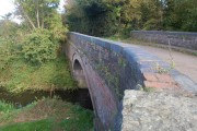 Middle Court Bridge over the Hereford & Gloucester canal at Monkhide