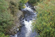 Black Water at Strone, Bridge of Cally