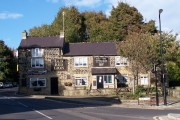 Old Red Lion Pub - 'The Top Red' - Grenoside. near Sheffield