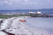 Beach by Claonaig Pier