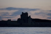 Ackergill Tower from the sea