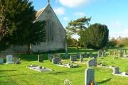Christ Church and its churchyard, Broad Town