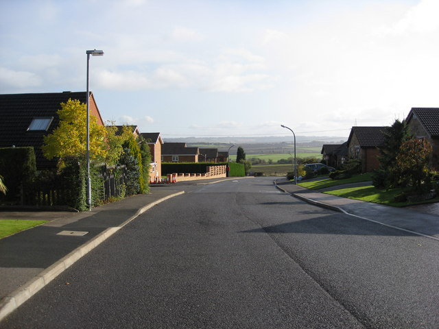 Inkersall Green - Bamford Road approaching Westwood Drive