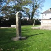 Two ancient crosses in the grounds of Camborne Parish Church