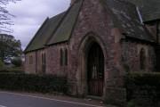 Entrance to Cowley church