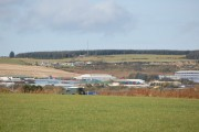 View towards Kirkhill Industrial Estate