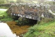 Dartmoor: Broadaford Brook bridge