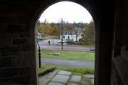 View of  Braemar from Church Archway