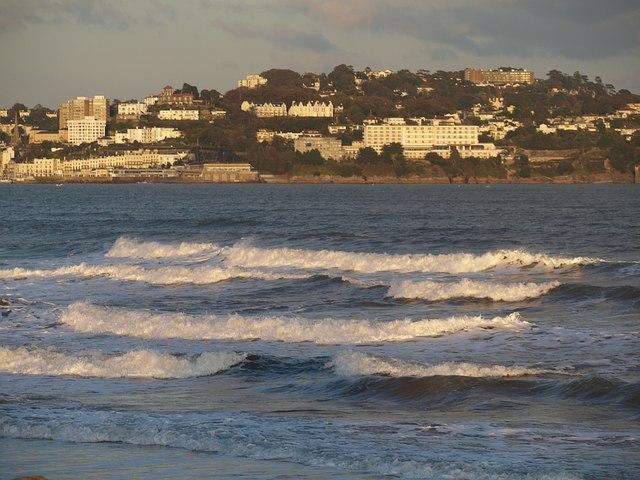 Waves at Preston Sands