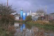 Factory along the River Soar