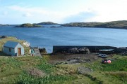 Small harbour on Scalpay