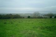 View across Loughor estuary towards Llanelli
