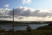 Pasture overlooking Cuan Sound