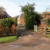 Entrance to Knapwell Wood Farm