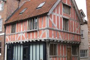 One of Tewkesbury's many timbered buildings