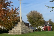 Stone cross in Muston, Leicestershire
