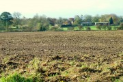 Across Drilled Fields To Ainderby Quernhow.
