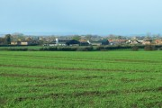 Sinderby With Witton Fell In The Distance.