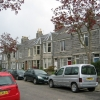 Granite terraced housing