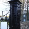 Carno - cast iron gate post