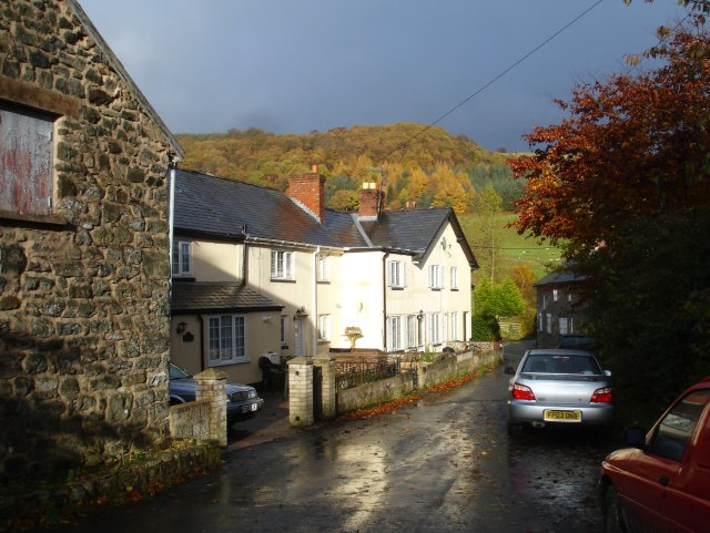 Old Post Office Lane, Carno