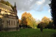 Sun on St. Peter's Church, Widmerpool