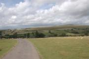 Moorland near Higher Godsworthy